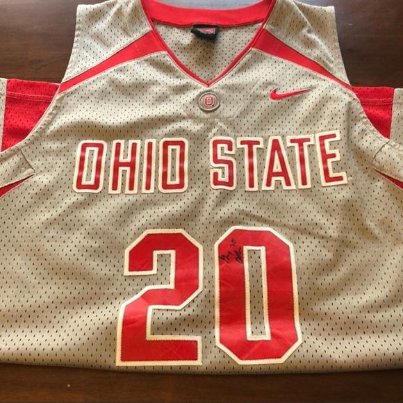 Authentic Nike Ohio State Basketball Jersey. M 5ab8ea6f72ea88d11ccf4bf7 dea695591